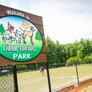 Friendly Pets Dog Park in Lee, NH