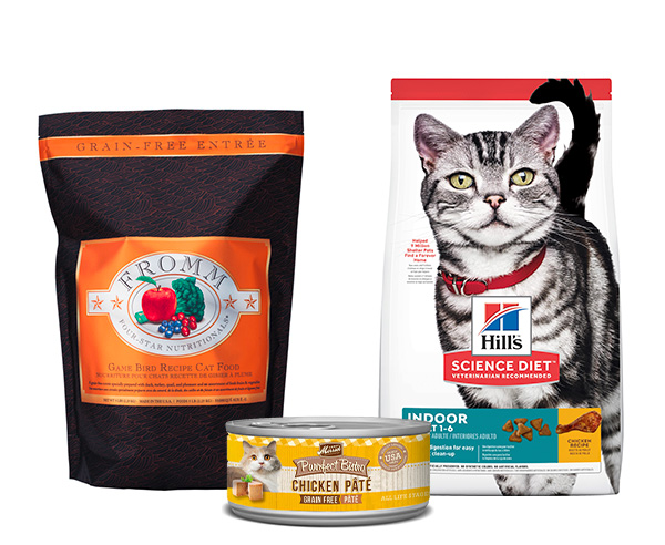 Shop Cat Food and Supplies